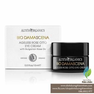 Kem Dưỡng Mắt Hữu Cơ Alteya Organics Bio Damascena Ageless Rose Otto Eye Cream, 15ml thumbnail