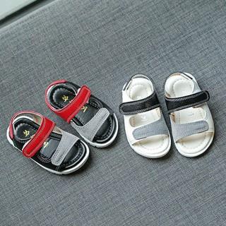 Sandal Dép bé Trai hai quai đế mềm cho cả bé mới tập đi