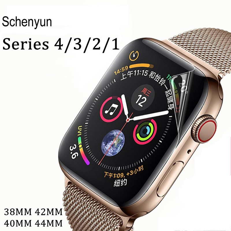 2pc Screen protector For apple watch 38/40/42/44mm Hydrogel Full Edge film For iwatch series 4/3/2/1 - 21872739 , 3607228047 , 322_3607228047 , 44022 , 2pc-Screen-protector-For-apple-watch-38-40-42-44mm-Hydrogel-Full-Edge-film-For-iwatch-series-4-3-2-1-322_3607228047 , shopee.vn , 2pc Screen protector For apple watch 38/40/42/44mm Hydrogel Full Edge f