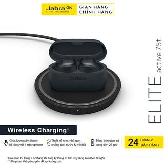Tai Nghe True Wireless Jabra Active 75T Wireless Charging - Hàng Chính Hãng