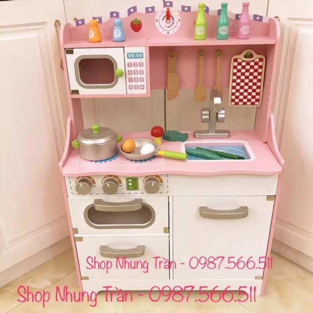 Bộ bếp gỗ cho bé ( Od ko có sẵn ) ib phí ship