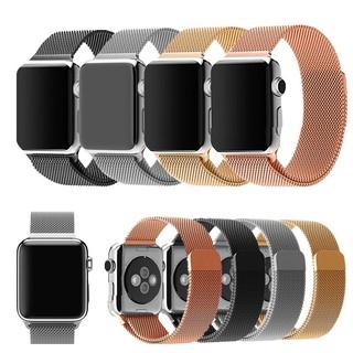 [Mã FAMAYFA2 giảm 10K đơn 50K] Dây đồng hồ Apple Watch Milan không gỉ cho series 1/2/3/4/5/6 size 38/40/42/44 mm