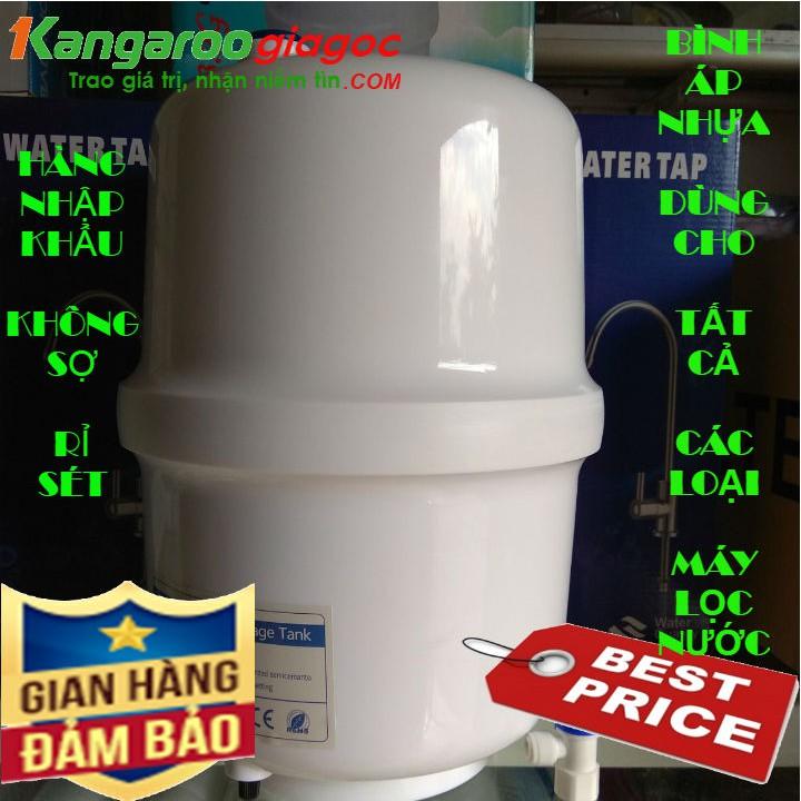 [UY TÍN SỐ 1] Bình áp nhựa máy lọc nước   Dùng cho mọi loại máy lọc nước RO trên thị trường