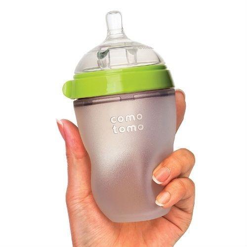 Bình sữa Comotomo 250ml đơn xanh BS116