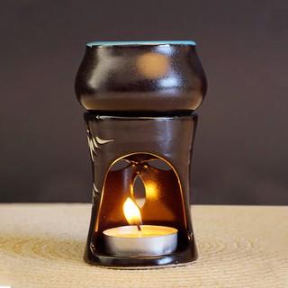 Đèn Xông Tinh Dầu Hình Trụ Bằng Nến Chân Rời Chất Liệu Gốm (Tặng Kèm Nến Tealight 10 Viên) MILAGANICS (Cái) thumbnail