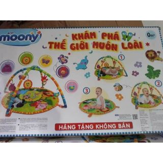 Thảm nằm chơi cho bé_ Quà tặng Moony