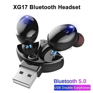 Tai Nghe Bluetooth 5.0 Không Dây Xg17 Tws Âm Thanh Sống Động Chất Lượng Cao