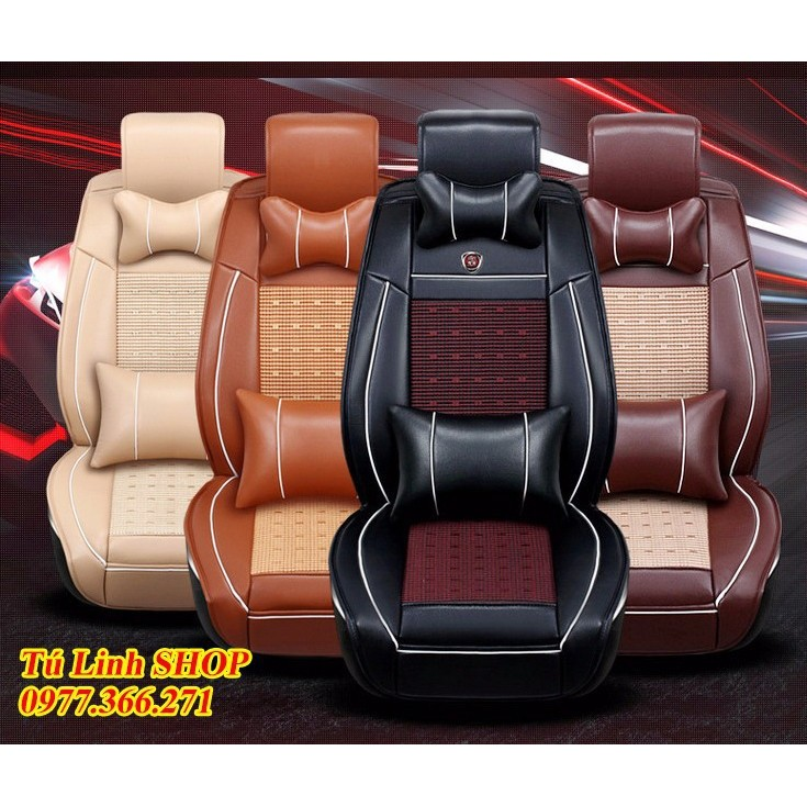 Bộ áo bọc da ghế cho ô tô mẫu 3