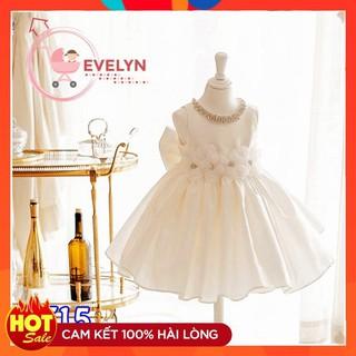Váy cho bé 👗 FreeShip + Tặng kèm nơ 🌺 Đầm công chúa Evelyn cho bé siêu xinh VF15 E001 E003