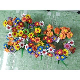 [DỄ THƯƠNG] Chậu hoa 3D dành cho bé chơi trang trí