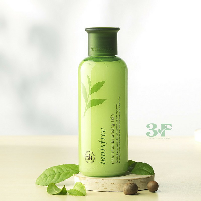 Nước hoa hồng Innisfree green tea balancing skin