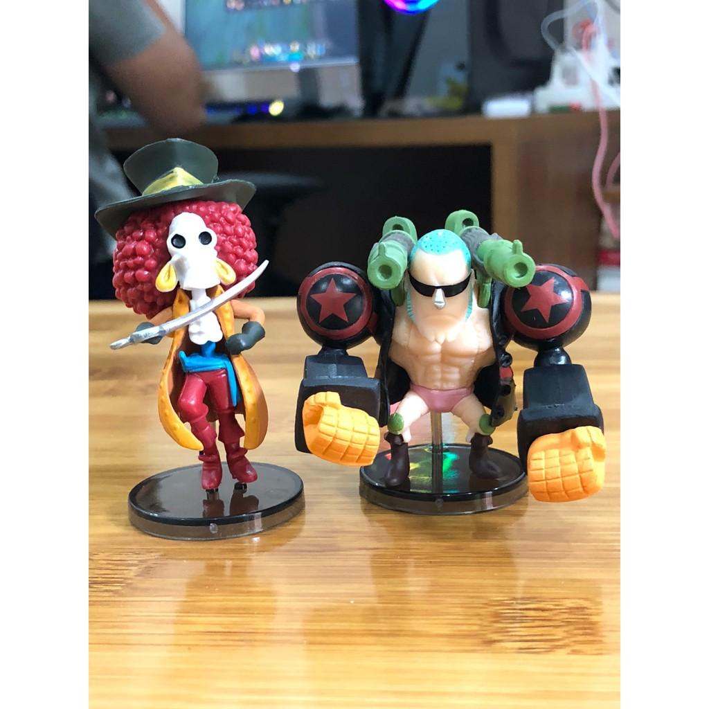 Mô Hình Nhân Vật One Piece Team Luffy Chibi ( Cả 9 Con )