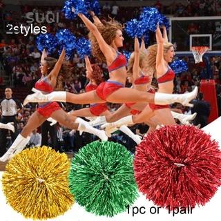Set 1 hoặc 1 cặp quả cầu cổ vũ 2 kiểu tùy chọn cầm tay lấp lánh nhiều màu thời trang khiêu vũ cao cấp cho nữ thumbnail