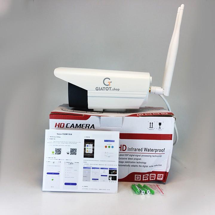 Camera wifi yoosee ngoài trời soi đêm có màu HD-720P QJ04 1.0 - 3326551 , 685643838 , 322_685643838 , 849000 , Camera-wifi-yoosee-ngoai-troi-soi-dem-co-mau-HD-720P-QJ04-1.0-322_685643838 , shopee.vn , Camera wifi yoosee ngoài trời soi đêm có màu HD-720P QJ04 1.0