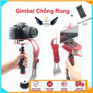 [ Sale Sập Sàn ] Tay cầm chống rung - gimbal SLR cho camera hành trình, hành động, điện thoại