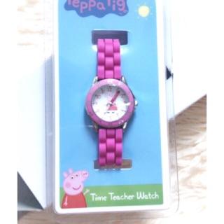 Hình thật Đồng hồ Peppa pig hàng xách tay us cho bé gái thumbnail