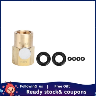 Xiyijia CO2 Cylinder Refill Adapter Tr21x4 To W21.8-14-RH Soda Water Filling