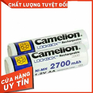 Pin Sạc AA Camelion 2700mAh LockBox