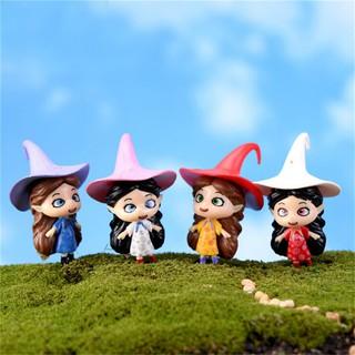 Mini Devil Witch Elves Fantasy Miniatures Fairy Garden Moss Decor Crafts Bonsai