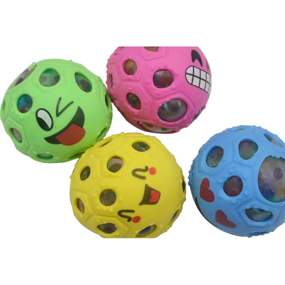 đồ chơi gudetama bóp trút giận mặt cảm xúc có hạt nở mã LTZ27