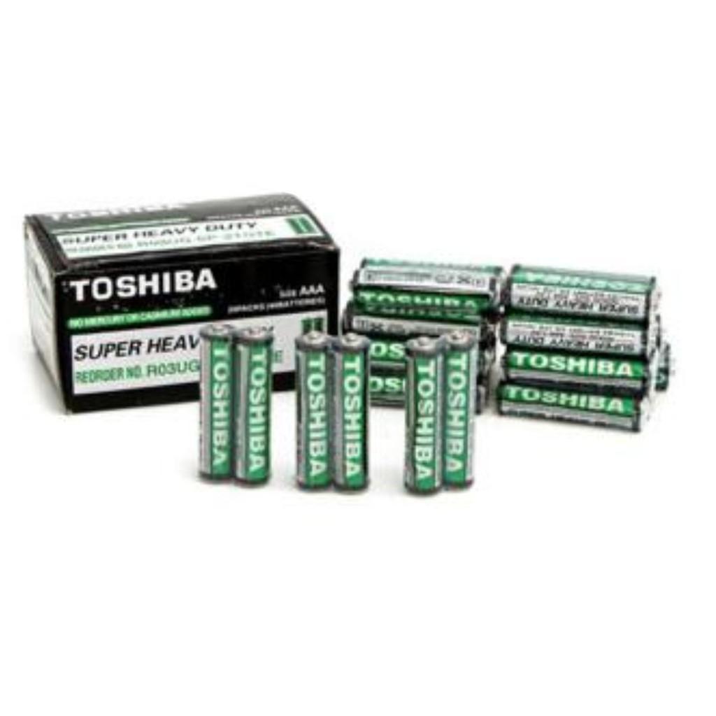 20 viên pin đũa, nhí, AAA Toshiba (10 cặp)