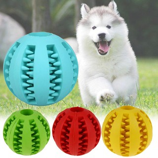 Pet Dog Cat Puppy Ruer Chew Ball Treat Cleaning Training Dental Teething-mat