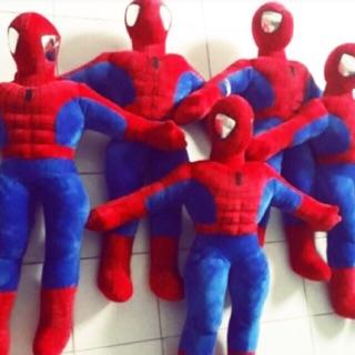 Người nhện [ 100% bông gòn, vải nhung] 60cm