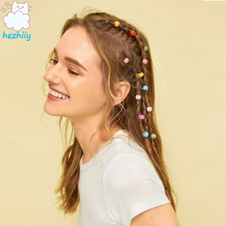 BJ 20 Pcs/set Women's Hairpin Candy-color Geometric Type Braid Hair Clips