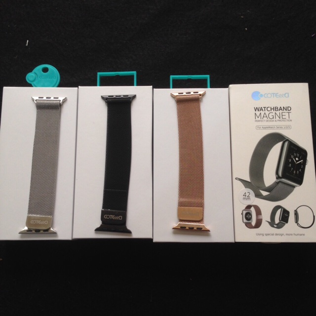 Dây đồng hồ AppleWat thép chính hãng Coteci