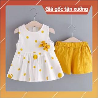 Quần áo trẻ em cho bé gái FREESHIP từ 1 tuổi đến 5 tuổi,áo cài nơ,quần chun,đồ bộ cho bé gái thumbnail