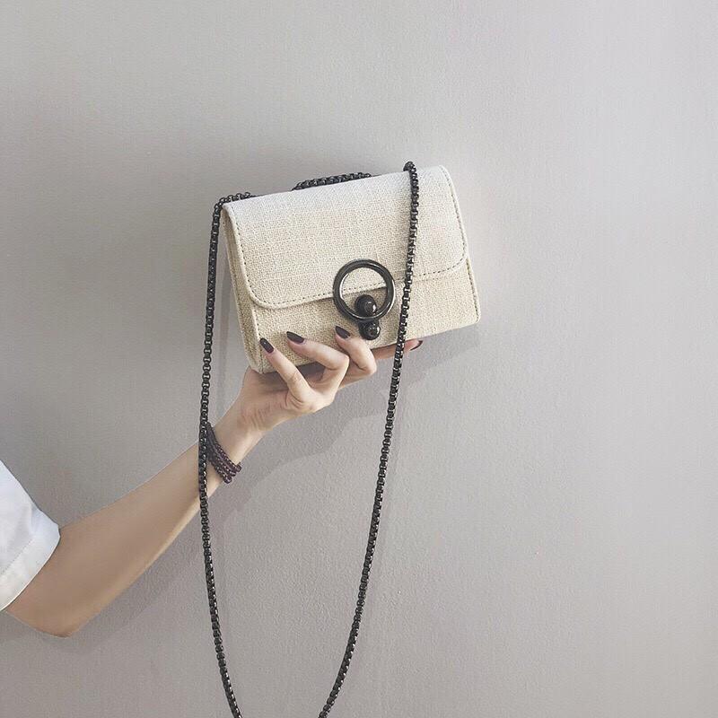 FREESHIP 50K - Túi xách nữ đeo chéo dáng Bassic sang trọng - DT02