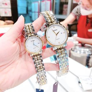 Đồng hồ đôi nam nữ STARKE dây thép thumbnail