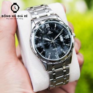 Đồng hồ thời trang FOURRON Japan bằng dây hợp kim thép không gỉ đủ 3 màu siêu rẻ
