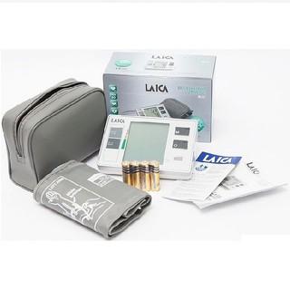 Máy đo huyết áp điện tử bắp tay Laica BM2001 – Dụng kiểm tra huyết áp, nhịp tim chính xác – Chính hãng Laica (Italy)