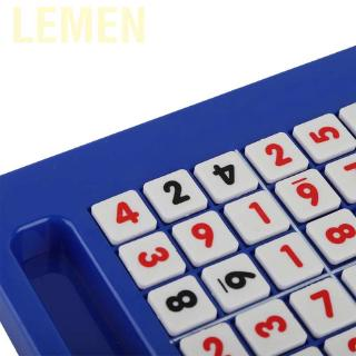 Lemen Sudoku Game Chess Children Number Puzzle Board Development Logic Thinking Training Toy