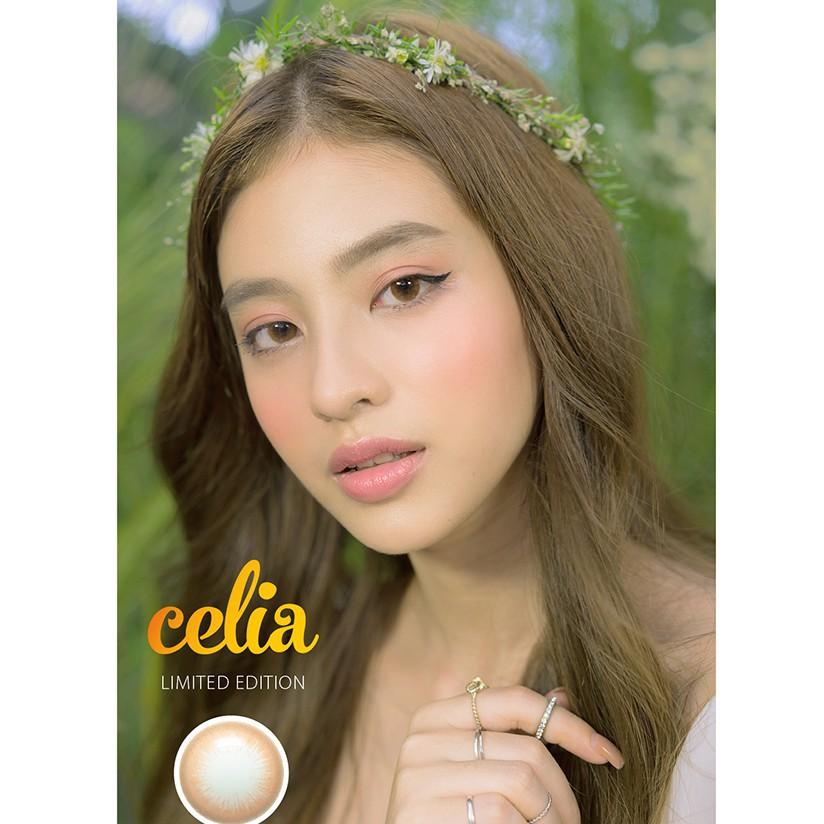 Hình ảnh [COSFS1 HOÀN 10%]Kính Áp Tròng DOLL EYES Celia Brown Limited Edition 14,2mm-2