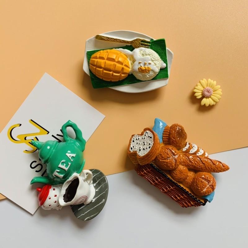 Nam châm hít dán trang trí tủ lạnh phong cách châu Âu (hình 3)
