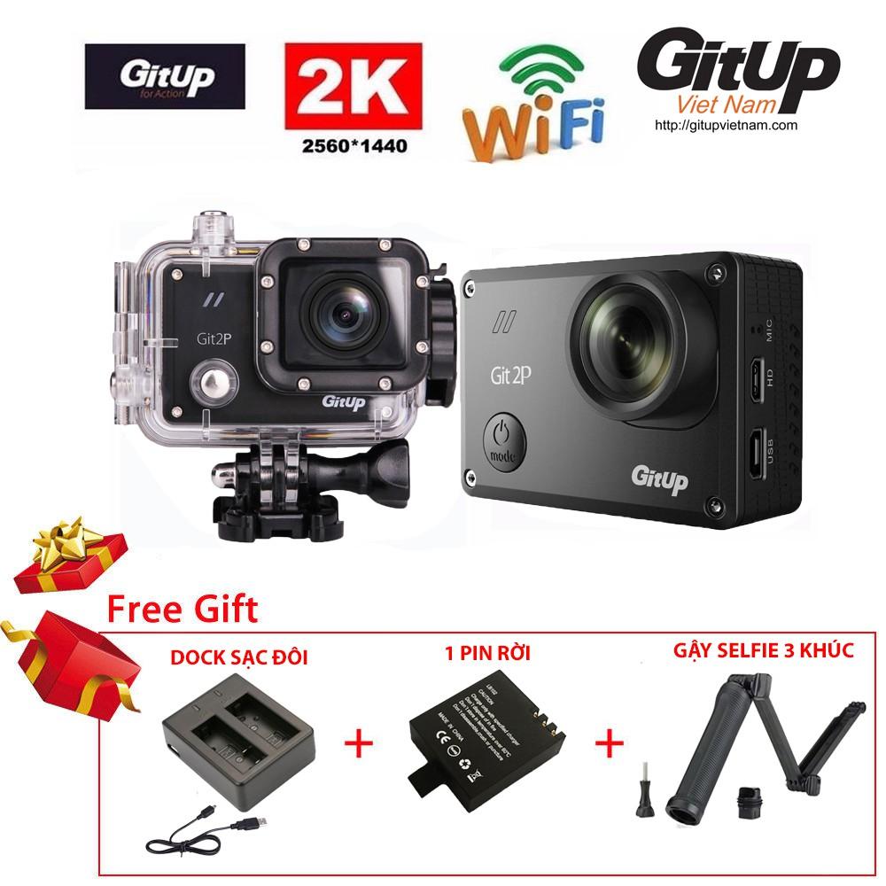 Camera hành trình GitUp Git2P Pro Packing - VIP COMBO