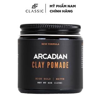 Sáp Vuốt Tóc Arcadian Clay Pomade 115g