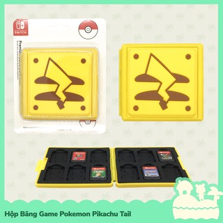 [Sẵn VN - NowShip] Hori Phụ Kiện Hộp Băng Game 12 Khoang Cho Nintendo Switch NS, Nintendo Switch Lite Pokemon Pikachu thumbnail