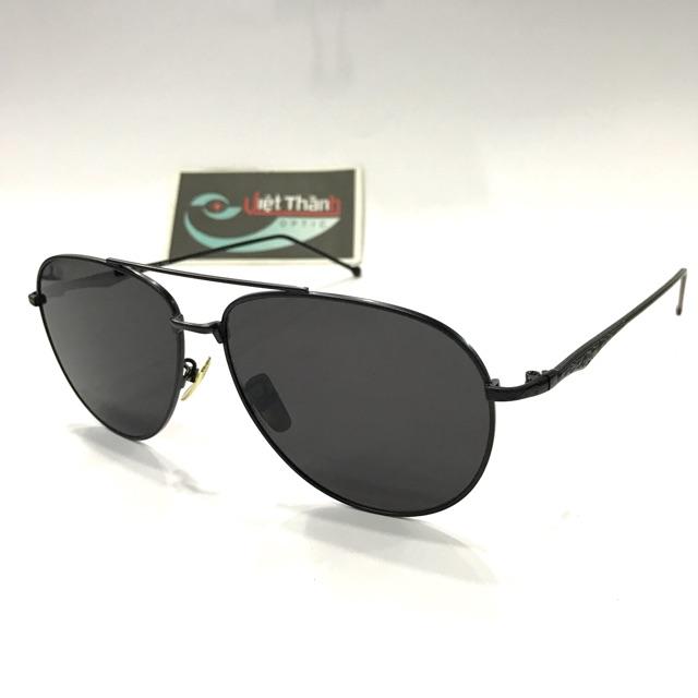 Mắt kính phẳng - tròng kính uv400 ( tặng hộp )