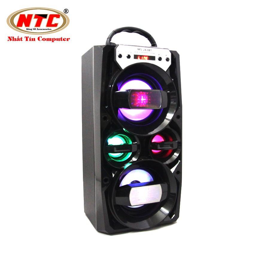 Loa bluetooth Karaoke xách tay NTC MS-263BT có đèn led - Công suất 12W (Màu ngẫu nhiên) - 2579728 , 945722247 , 322_945722247 , 399000 , Loa-bluetooth-Karaoke-xach-tay-NTC-MS-263BT-co-den-led-Cong-suat-12W-Mau-ngau-nhien-322_945722247 , shopee.vn , Loa bluetooth Karaoke xách tay NTC MS-263BT có đèn led - Công suất 12W (Màu ngẫu nhiên)