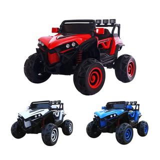 Ô tô xe điện siêu địa hình 2 ghế 4 động cơ cho bé vui chơi vận động KIDVIET-PRO XJL-588