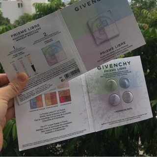 Sample (mẫu thử) Phấn bột Givenchy Prisme Libre thumbnail