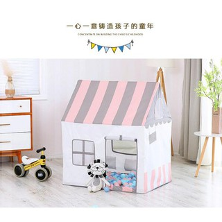 Children Tent with Mat Kids Indoor Play House Baby Outdoor Tents Playhouse