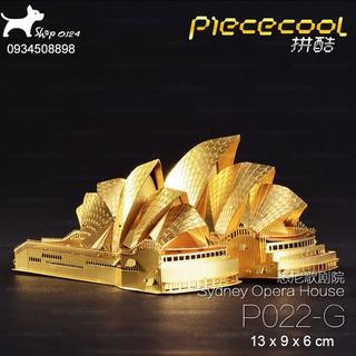 Đồ chơi lắp ghép mô hình 3D bằng thép Nhà hát Sydney Piececool
