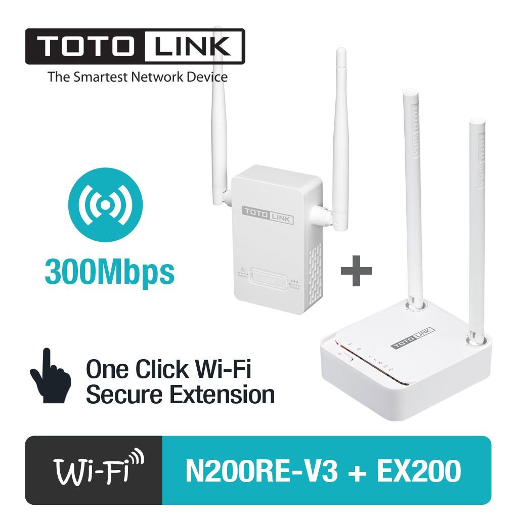 [FREESHIP] Bộ Phát WiFi TOTOLINK N200RE-v3 & Kích sóng WiFi TOTOLINK EX200 - 3142912 , 215596627 , 322_215596627 , 479000 , FREESHIP-Bo-Phat-WiFi-TOTOLINK-N200RE-v3-Kich-song-WiFi-TOTOLINK-EX200-322_215596627 , shopee.vn , [FREESHIP] Bộ Phát WiFi TOTOLINK N200RE-v3 & Kích sóng WiFi TOTOLINK EX200