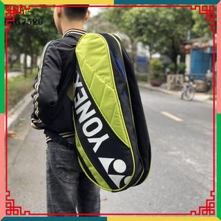 """[Ưu đãi] Túi vợt thể thao cầu lông Yonex 7626EX đỏ chuyên dụng, thiết kế rộng rãi, mẫu mã đa dạng """""""