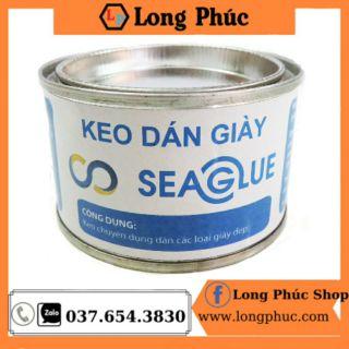 Keo Dán Giày SeaGlue 🥰 FREESHIP 🥰| Keo dán SeaGlue trong suốt, chịu nước , dính chắc | Long Phúc Shop | Lọ 100gr