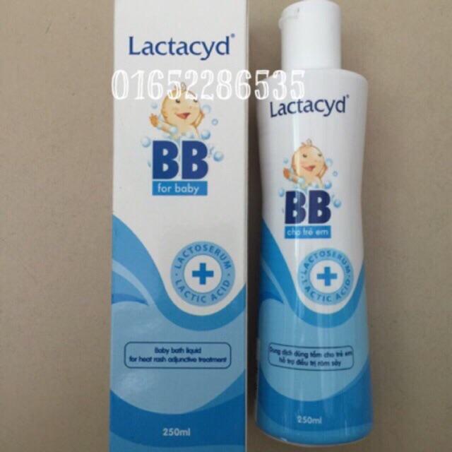 Sữa tắm Lactacyd BB 250ml
